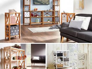 Ganz schön offenherzig: offene Regale für dein Zuhause: modern  von Dänisches Bettenlager GmbH & Co. KG,Modern