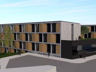 Residência de Estudantes e Apart-Hotel - Porto 2017 por arcq.o | rui costa & simão ferreira arquitectos, Lda.