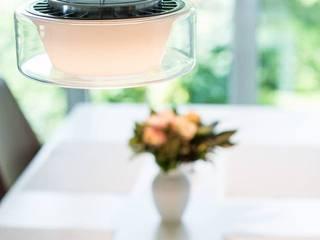 Lichtplanung innerhalb eines Dachgeschossausbaus Lichtja Licht und mehr GmbH EsszimmerBeleuchtungen Glas Weiß