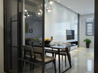 Scandinavian style dining room by 楊允幀空間設計 Scandinavian
