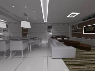 Eclectische woonkamers van Studio Bossa Decoração de Interiores Eclectisch