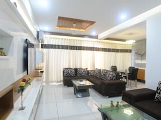 Interiors Modern living room by MSA INDIA Modern