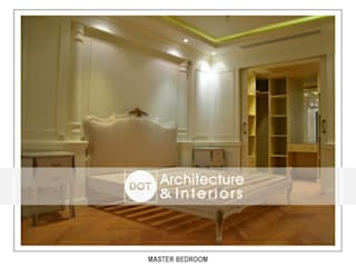 :  غرفة نوم تنفيذ DOT Architecture and Interior
