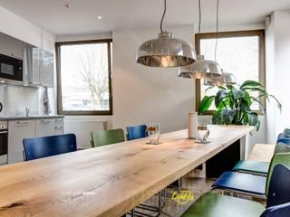 Küche und Aufenthaltsraum :  Bürogebäude von LichtJa - Licht und Mehr GmbH