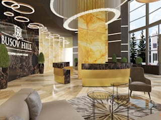 Artichok Design Commercial Spaces Stone Amber/Gold