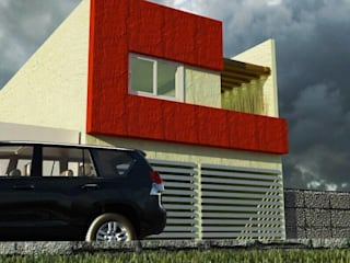 von [GM+] Arquitectos Minimalistisch