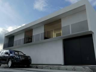 Residencia [N & P]: Casas unifamiliares de estilo  por [GM+] Arquitectos