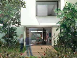 Jardin avant de style  par ODVO Arquitetura e Urbanismo, Moderne