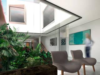 Jardin de style  par ODVO Arquitetura e Urbanismo, Moderne
