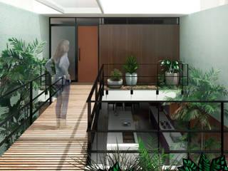 Couloir et hall d'entrée de style  par ODVO Arquitetura e Urbanismo, Moderne