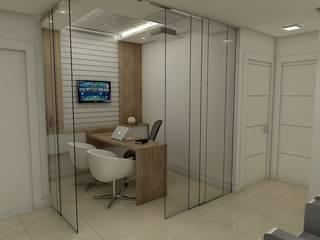 Escritórios modernos por Arquilego - Projetos Online - Arquiteto Virtual Moderno
