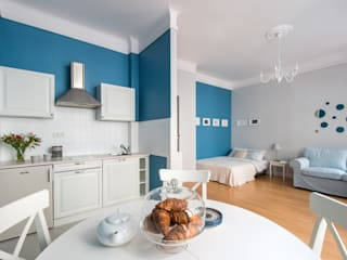 IDEALS . Marta Jaślan Interiors Salas de estilo clásico