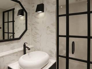 욕실 및 거실 클래식스타일 욕실 by (주)노드 클래식 타일