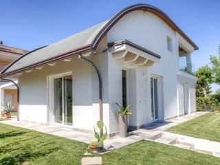 Progettolegno srl Wooden houses Wood White
