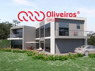 Habitação Unifamiliar: Casas unifamilares  por Oliveiros Grupo