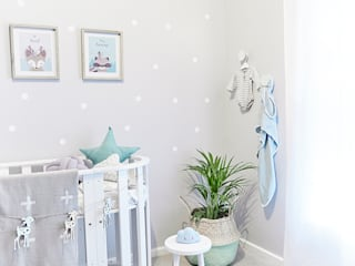 Nursery Room Makeover Featured in Living and Loving Magazine:  Baby room by The Home Collective