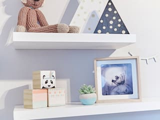 Nursery Room Makeover Featured in Living and Loving Magazine: scandinavian Bedroom by The Home Collective