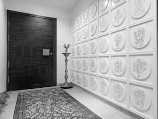 Premium home designs Asian style corridor, hallway & stairs by Bric Design Group Asian