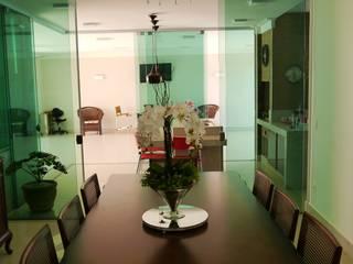 Residência ML1: Salas de jantar  por ARQUITETO NA OBRA