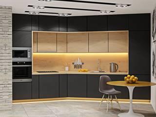 ДизайнМастер Modern style kitchen Beige