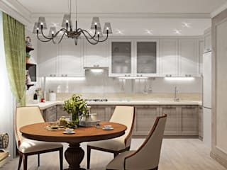 ДизайнМастер Classic style kitchen White