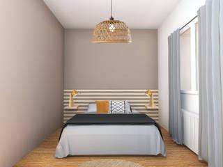 Scandinavian style bedroom by AL Intérieurs Scandinavian