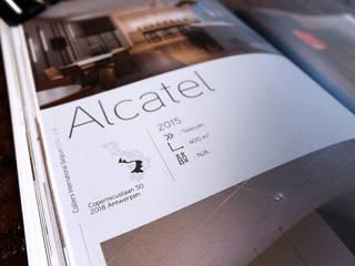 Colliers International Belgium Book 2016 graphisme: Bureaux de style  par Thibaut Solvit