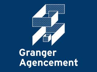 Granger Agencement, identité visuelle graphisme:  de style  par Thibaut Solvit