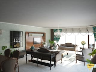 Öykü İç Mimarlık – NN Evi:  tarz Oturma Odası