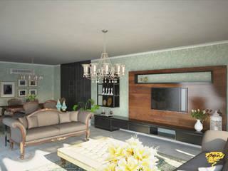 NN Evi Modern Oturma Odası Öykü İç Mimarlık Modern