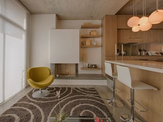 Martínez Arquitectura Minimalist dining room