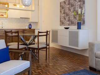 modern  by Traço Magenta - Design de Interiores, Modern Cotton Red