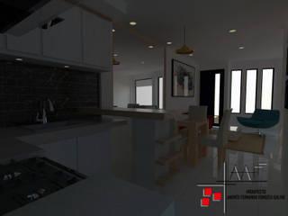 Proyecto Casa Ospina (VIS) Cocinas modernas de Arquitecto Andrés Fonseca Moderno