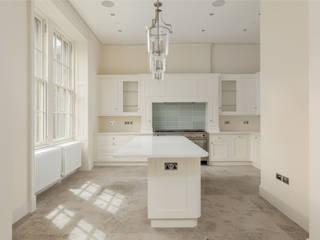 Contemporary White Shaker Kitchen Stange Kraft Ltd Modern kitchen Solid Wood White