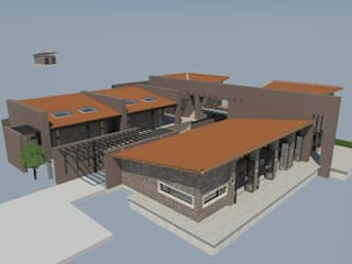 Casa Privada - Guasca - Cundinamarca de Bustos + Quintero arquitectos Rural