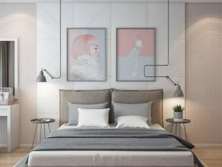 Спальня для молодой девушки: Спальни в . Автор – Панченко Мария