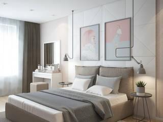 Phòng ngủ phong cách tối giản bởi Панченко Мария Tối giản