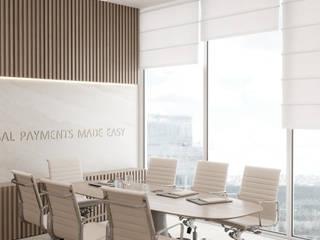 Офис для компании платежных систем. Переговорная: Офисы и магазины в . Автор – Панченко Мария