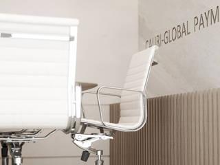 Офис для компании платежных систем. Переговорная: Офисные помещения в . Автор – Панченко Мария