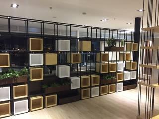 Lounge - Fundación Clinica Shaio de Bustos + Quintero arquitectos Moderno