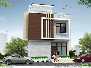 Residence plan for a house by ArchSpace Architects Modern