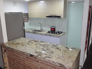 MODE ARQUITECTOS SAS Modern kitchen