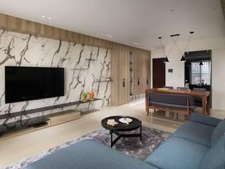 木皆空間設計 ห้องนั่งเล่น