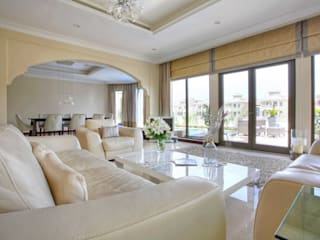 Palm Jumeirah 1 Chameleon Interior Living room