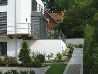 Einfamilienhaus W - 3 Geschosse Moderner Garten von Seidel Architekten und Generalplaner GmbH Modern