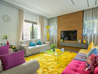 Living room by Grid Fine Finishes