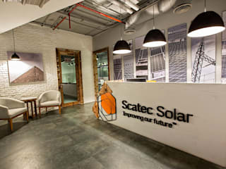Scatec Solar by Grid Fine Finishes 인더스트리얼