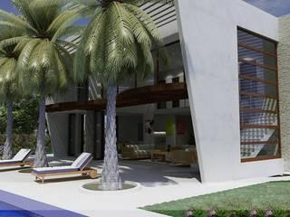 Casas Campestres: Jardines de estilo  por Arquitectos y Entorno S.A.S,