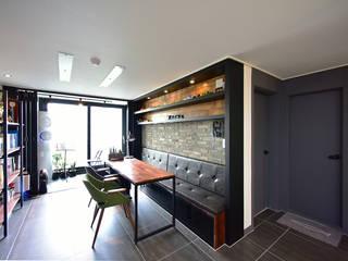 누보인테리어디자인 Moderne woonkamers