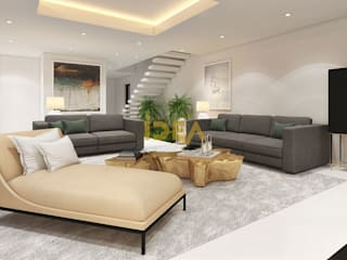 Casa - Cannes: Salas de estar modernas por Empolgant Idea